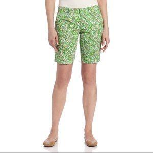 Lilly Pulitzer Chomp Chomp Avenue Shorts Size 0